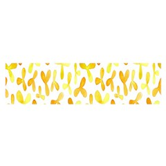 Springtime Yellow Helicopter Satin Scarf (oblong) by Alisyart