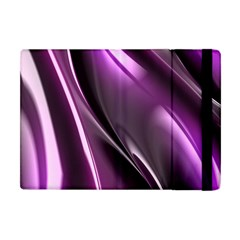 Purple Fractal Mathematics Abstract Apple Ipad Mini Flip Case