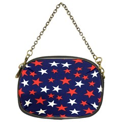 Star Red White Blue Sky Space Chain Purses (one Side)  by Alisyart