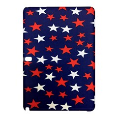 Star Red White Blue Sky Space Samsung Galaxy Tab Pro 10 1 Hardshell Case by Alisyart