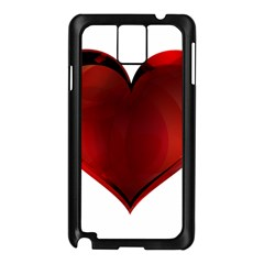 Heart Gradient Abstract Samsung Galaxy Note 3 N9005 Case (black)