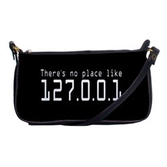 There s No Place Like Number Sign Shoulder Clutch Bags by Alisyart
