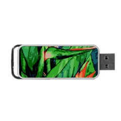 Flowers Art Beautiful Portable Usb Flash (one Side)