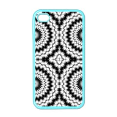 Pattern Tile Seamless Design Apple Iphone 4 Case (color) by Amaryn4rt