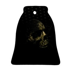 Skull Fantasy Dark Surreal Ornament (bell) by Amaryn4rt