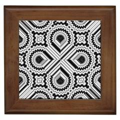 Pattern Tile Seamless Design Framed Tiles
