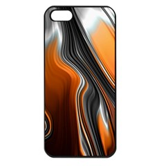 Fractal Structure Mathematic Apple Iphone 5 Seamless Case (black) by Amaryn4rt