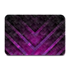 Purple Background Wallpaper Motif Design Plate Mats by Amaryn4rt