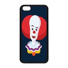 Clown Face Red Yellow Feat Mask Kids Apple Iphone 5c Seamless Case (black) by Alisyart