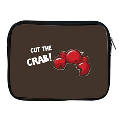 Cutthe Crab Red Brown Animals Beach Sea Apple Ipad 2/3/4 Zipper Cases by Alisyart