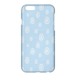 Circle Blue White Apple Iphone 6 Plus/6s Plus Hardshell Case by Alisyart