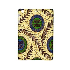 Fabrick Batik Brown Blue Green Leaf Flower Floral iPad Mini 2 Hardshell Cases by Alisyart