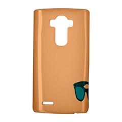 Glasses Blue Orange LG G4 Hardshell Case by Alisyart