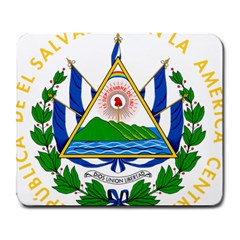 Coats Of Arms Of El Salvador Large Mousepads by abbeyz71