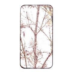 Textured Nature Print Apple Iphone 4/4s Seamless Case (black) by dflcprints