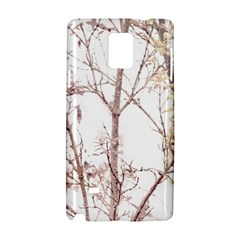 Textured Nature Print Samsung Galaxy Note 4 Hardshell Case by dflcprints