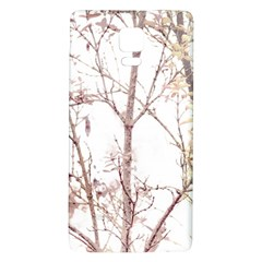 Textured Nature Print Galaxy Note 4 Back Case by dflcprints