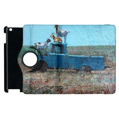 Goats On A Pickup Truck Apple Ipad 3/4 Flip 360 Case by theunrulyartist