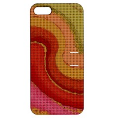 Candy Cloth Apple Iphone 5 Hardshell Case With Stand by CannyMittsDesigns