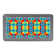 Pop Art Abstract Design Pattern Memory Card Reader (mini) by Amaryn4rt