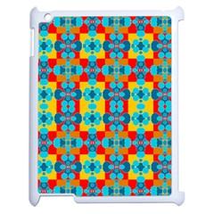 Pop Art Abstract Design Pattern Apple Ipad 2 Case (white) by Amaryn4rt