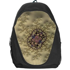 Fractal Art Colorful Pattern Backpack Bag by Amaryn4rt