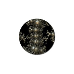 Fractal Math Geometry Backdrop Golf Ball Marker (10 Pack) by Amaryn4rt
