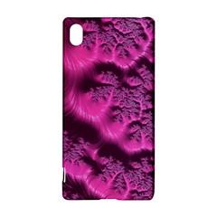 Fractal Artwork Pink Purple Elegant Sony Xperia Z3+ by Amaryn4rt