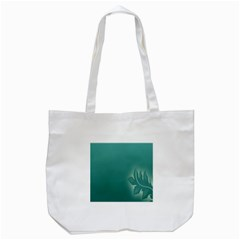 Leaf Green Blue Branch  Texture Thread Tote Bag (white) by Alisyart