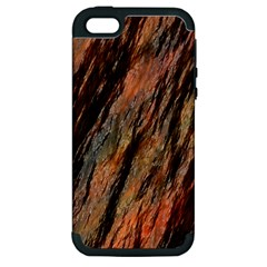 Texture Stone Rock Earth Apple Iphone 5 Hardshell Case (pc+silicone)