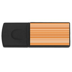 Line Brown Usb Flash Drive Rectangular (4 Gb) by Alisyart