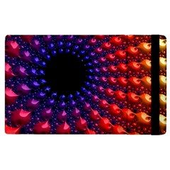 Fractal Mathematics Abstract Apple Ipad 2 Flip Case by Amaryn4rt