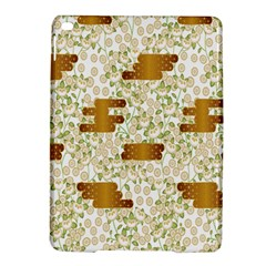 Flower Floral Leaf Rose Pink White Green Gold Ipad Air 2 Hardshell Cases by Alisyart