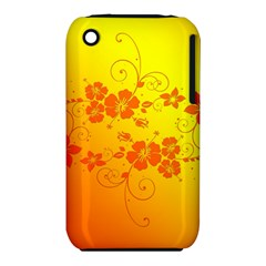 Flowers Floral Design Flora Yellow Iphone 3s/3gs by Amaryn4rt