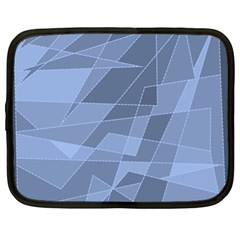 Lines Shapes Pattern Web Creative Netbook Case (xl)