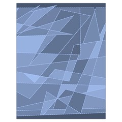 Lines Shapes Pattern Web Creative Drawstring Bag (Large)