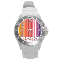 Code Data Digital Register Round Plastic Sport Watch (l)