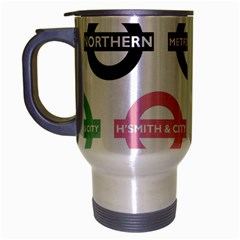 Underground Signs Tube Signs Travel Mug (silver Gray)