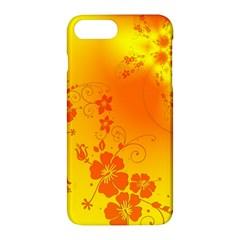 Flowers Floral Design Flora Yellow Apple Iphone 7 Plus Hardshell Case