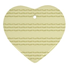 Background Pattern Lines Ornament (heart)