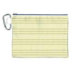 Background Pattern Lines Canvas Cosmetic Bag (xxl) by Amaryn4rt