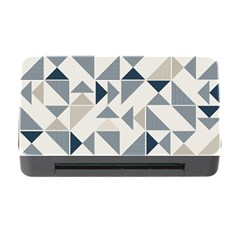 Geometric Triangle Modern Mosaic Memory Card Reader With Cf by Amaryn4rt