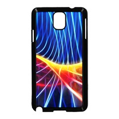 Color Colorful Wave Abstract Samsung Galaxy Note 3 Neo Hardshell Case (black) by Amaryn4rt