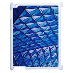 Lines Geometry Architecture Texture Apple Ipad 2 Case (white)