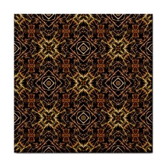 Tribal Geometric Print Face Towel by dflcprints