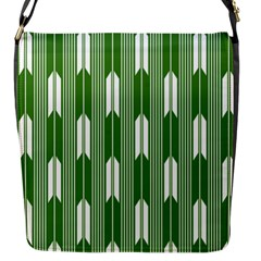 Arrows Green Flap Messenger Bag (s) by Alisyart