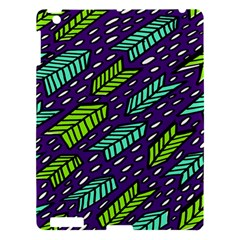 Arrows Purple Green Blue Apple Ipad 3/4 Hardshell Case by Alisyart
