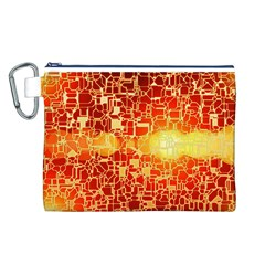 Board Conductors Circuit Canvas Cosmetic Bag (l) by Amaryn4rt