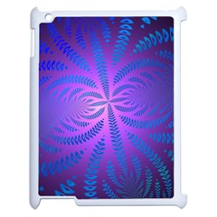 Background Brush Particles Wave Apple Ipad 2 Case (white) by Amaryn4rt