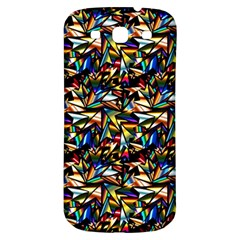 Abstract Pattern Design Artwork Samsung Galaxy S3 S Iii Classic Hardshell Back Case by Amaryn4rt